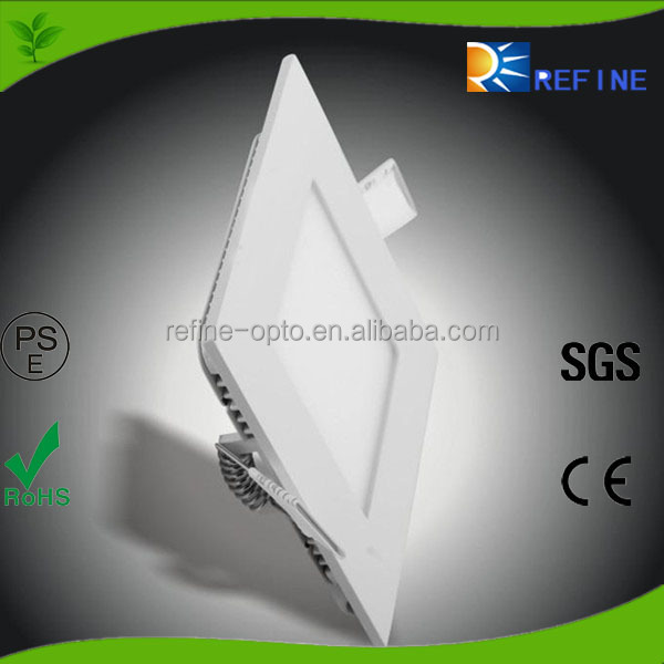 SMD Chip high quality factory price 15W Square Panel Light LED