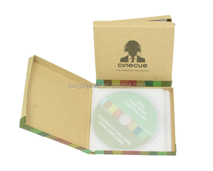 Custom CD Box Set Packaging/DVD Box Set Packaging