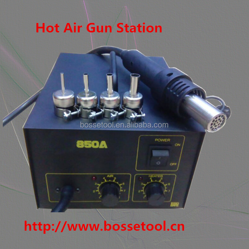 Low Price Stable Lead-free 850 smd Rework Station 300w Hot Air Gun