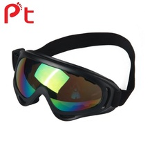 PT Sports UV400 Protective Motorcycle safety goggles Custom anti fog Goggles for sale