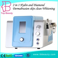 Professional 2 in 1 diamond head tip microdermabrasion machine
