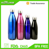 durable stainless steel Double Wall Vacuum Water Bottle cola bottleRH503-1500