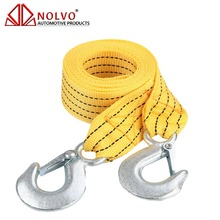 High Strength Tow Rope Heavy Duty Recovery Strap Car Emergency Tow Strap with Hooks