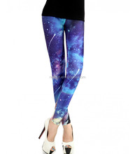 newest high quality dry fit plus size running jogger sports Galaxy Leggings customized design