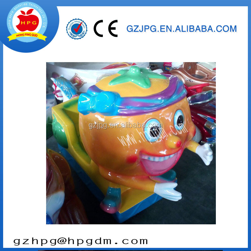 China manufacturer fiberglass amusement kiddie rides