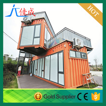 movable multi storey 20 feet living container house