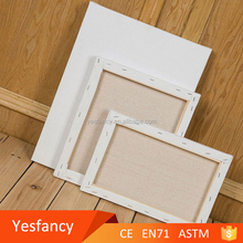 hot sale wholesale stretched blank art painting canvas
