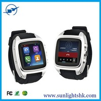 "2015 new product 1.54"" 3g android china smart watch phone with wifi sim card slot water-proof bluetooth GPS watch mobile phone"