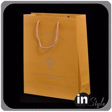 brown paper gift bags with handles, small brown paper bags with handles, laminated paper bags