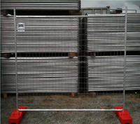 Temporary security fence,removable temporary security fence,hot dipped galvanized temporary security fence