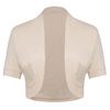 /product-detail/belle-poque-ladies-short-sleeve-pleated-sides-cotton-wheat-shrug-bolero-bp000215-7-60693287446.html