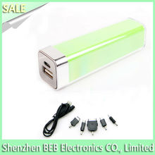 2600mah universal portable cell phone charger for iphone 5s