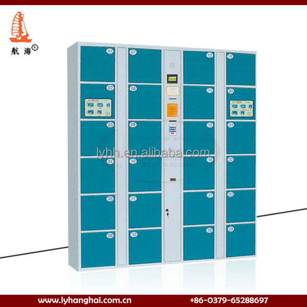 Made In China Gym Locker Room Furniture Digital Door Locks Electronic  Cabinet Coin Operated Lockers Barcode