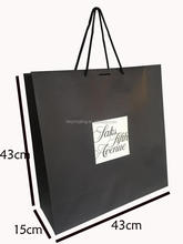 Printed Customized Big Paper Bag Packing Bags And Shoes Wholesale