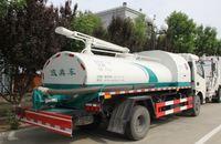 6cbm sewer cleaning truck, vacuum sewage suction truck, sludge truck