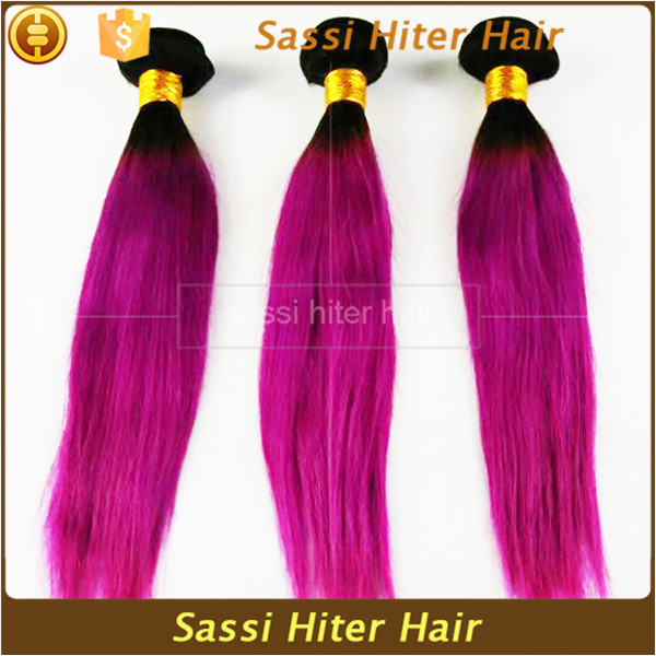 2016 Good Quality Tangle Free Fashion Red Indian Remy Hair Weave