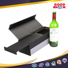 Luxury reinforced wooden wine bottle packaging box for shipping glasses