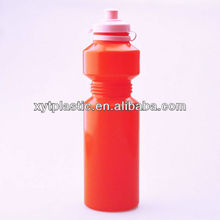 750ml long neck PE Sports Water Bottle for outdoor sport