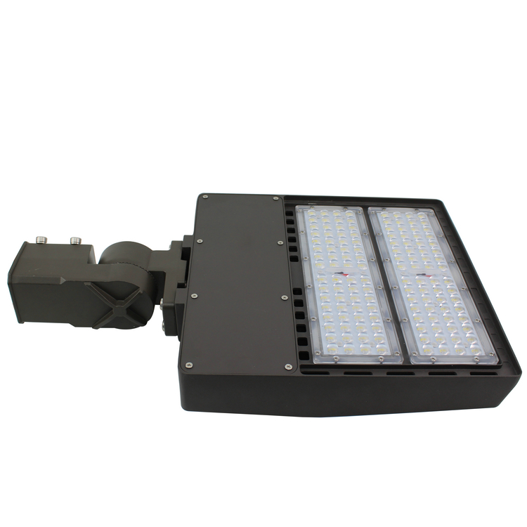 UL DLC ourdoor public shoebox light 150w from shenzhen factory pole street