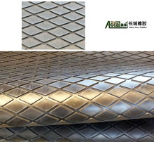 South Africa Style 2mm Board Pulley Lagging Diamond Horse Mat Porous Comfort Matting With Insertion Fabric