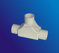 plastic quick connector / pipe clamp saddle / pvc pipe joint