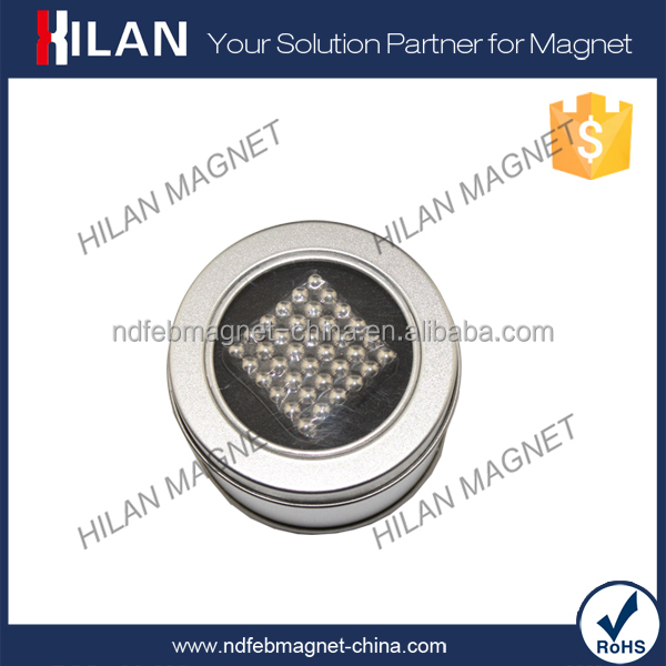 Cheap Price Silver Color 5mm Neodymium Magnet Balls