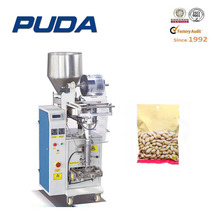 100g nut peanut packing machine for plastic bags
