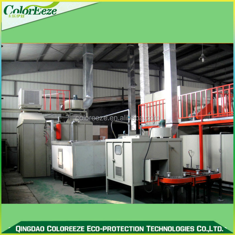 Teflon Powder Coating Equipment/2015 Liquid Coating Line