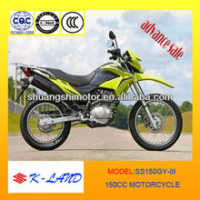 Chinese newest style motocicleta 150cc advance sale in 2013 for South America(SS150GY-5III)