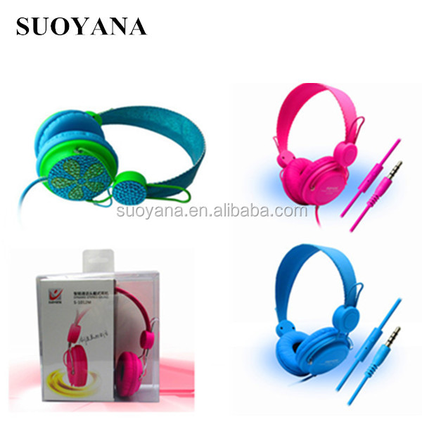 colorful wired headset for computer laptop,headset with rohs