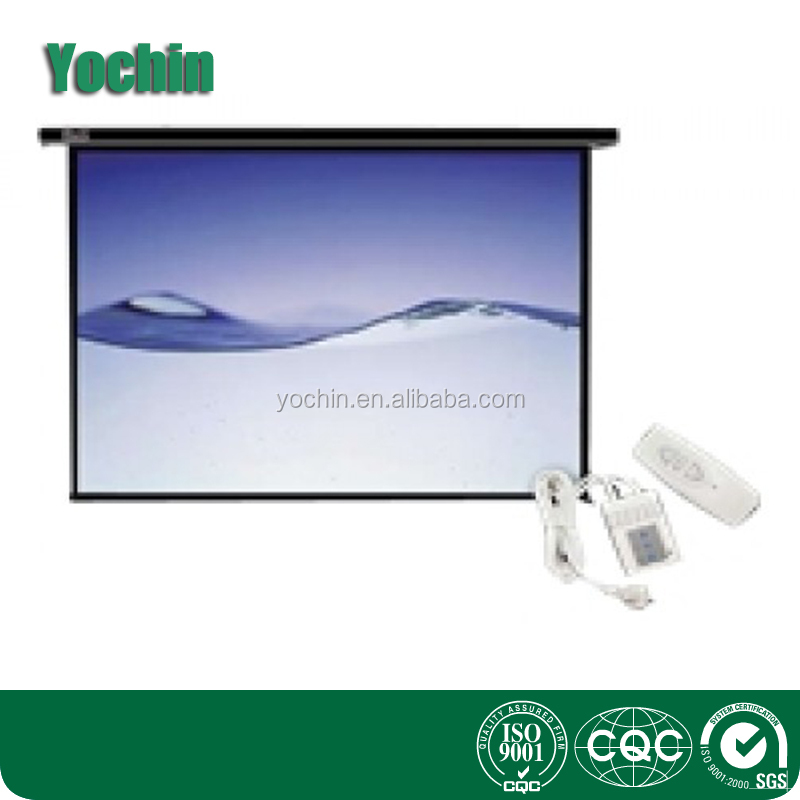 Wall Moounted Electric Projection Screen Factory Price
