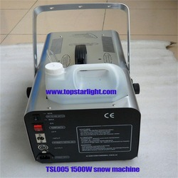 indoor snow machine Professional 1500w Snow Effect Machine