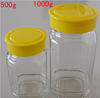 500g 1000g High quality manufactures wholesales glass jar honey jar with lid