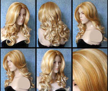 FW-0037 Wholesale high quality Fashion Synthetic Wig