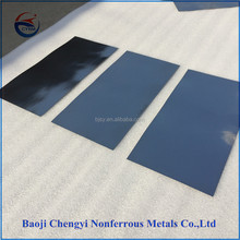 ASTM 99.95% pure tungsten plate