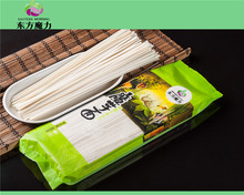 natural organic konjac dried wide noodles