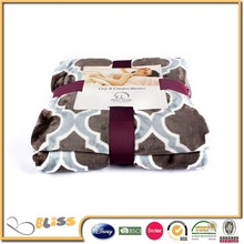 100% Polyester Rotary Printed flannel Fleece Blanket/bed sheet