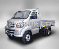 RHD 1.0 Tons Loading Capacity SINOTRUK CDW 4x2 Light Cargo Truck/Mini Truck for sale-LK717P1B