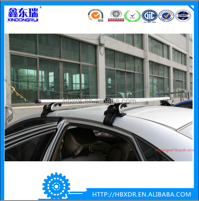 China manufacture professional auto parts universal aluminium alloy car roof rack