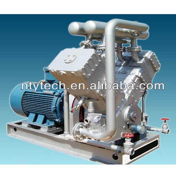 High Pressure Gas Compressor : V type high pressure natural gas cylinder filling