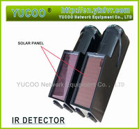 High quality security alarms systems solar beam detector / infrared alarm sensor