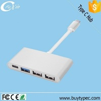 High Speed Multifunction Type c Hub 3.1 to 4 Ports 1 Typec 1 USB 3.0 And 2 USB 2.0 Adapter Online Shopping