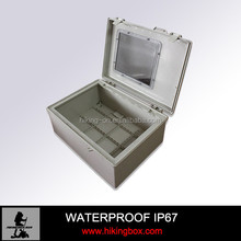 Outdoor Sealed Plastic Hinged Enclosure /Waterproof Wall Mounting Box HPE016