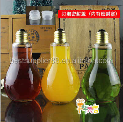 100ml 150ml 200ml 250ml New style bulb glass bottle