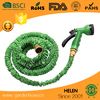 100ft magic black pocket expandable garden water hose with brass connector hose