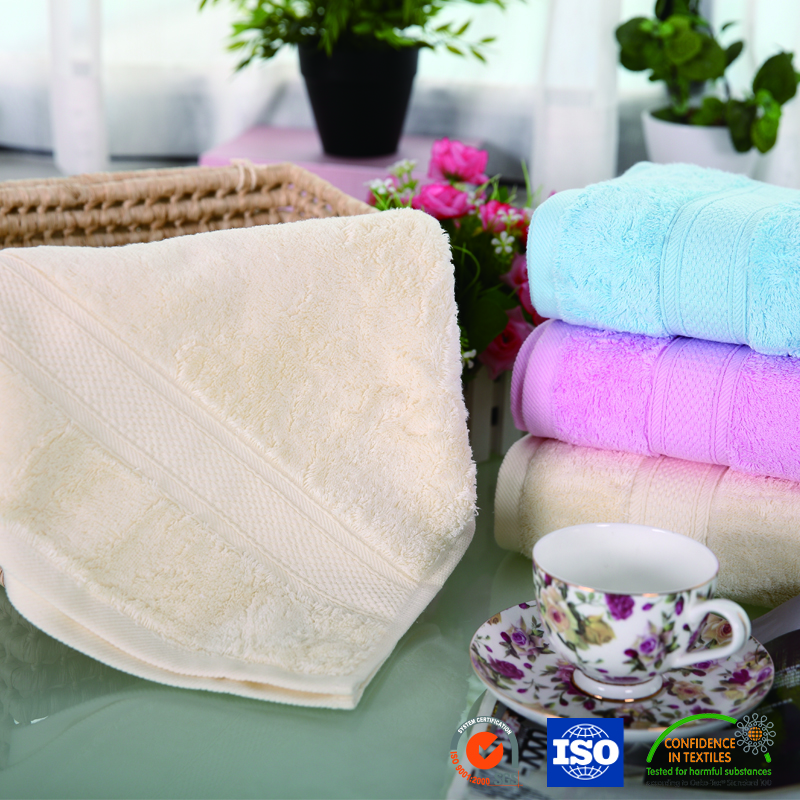 Chinese Manufacturer Home Textile Cotton Face Towel