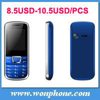 Less 10USD Mobile Phone 2252 Dual sim card Quad band