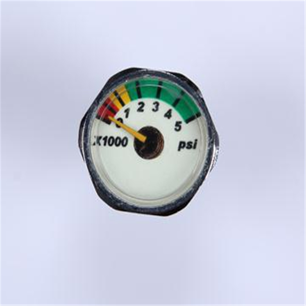 Hot Selling New Design Clear mini air pressure gauge