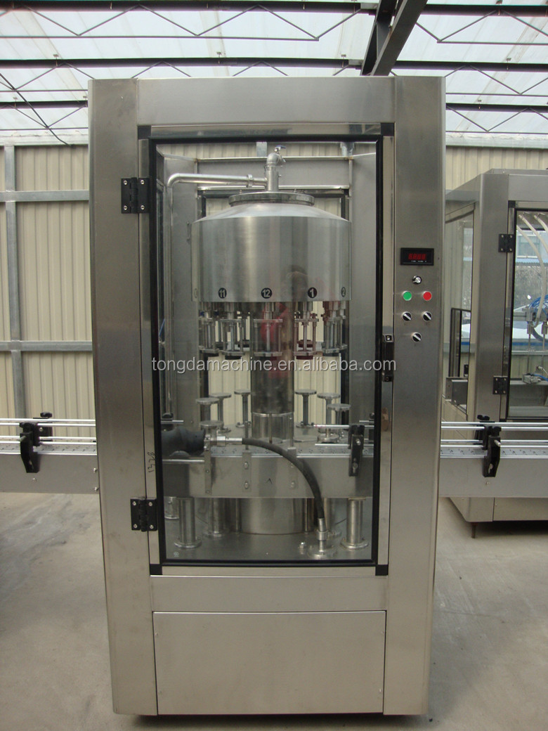 alcoholic beverages filling machine for glass and pet bottle