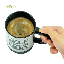Automatic Electric Stainless Steel Coffee Mixing Cup Self Stirring Mug Drinking Cup